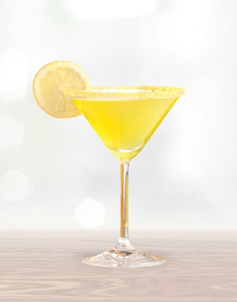 Lemongrass Tini cocktail Le Méridien Siem Reap Sombai