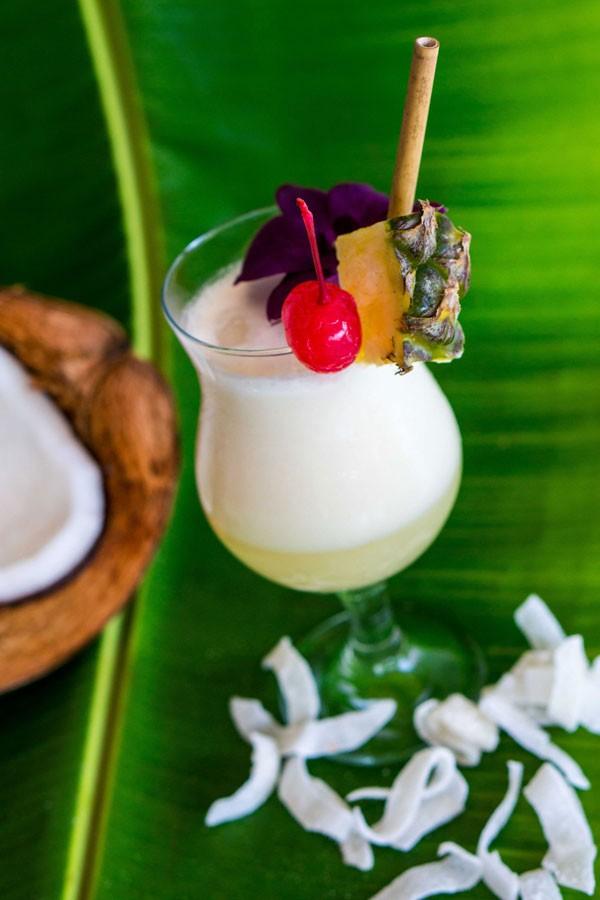 Pina Cambodia Pina Colada Siem Reap Sombai cocktail