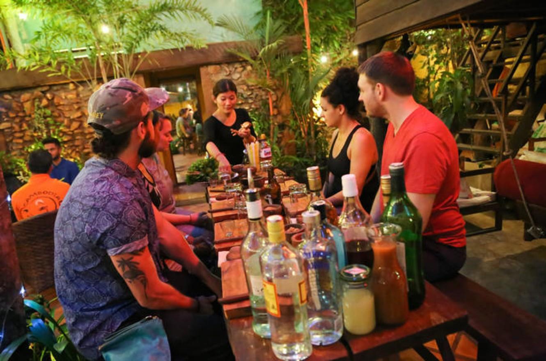 Cocktail class Siem Reap Asana Sombai Cambodia