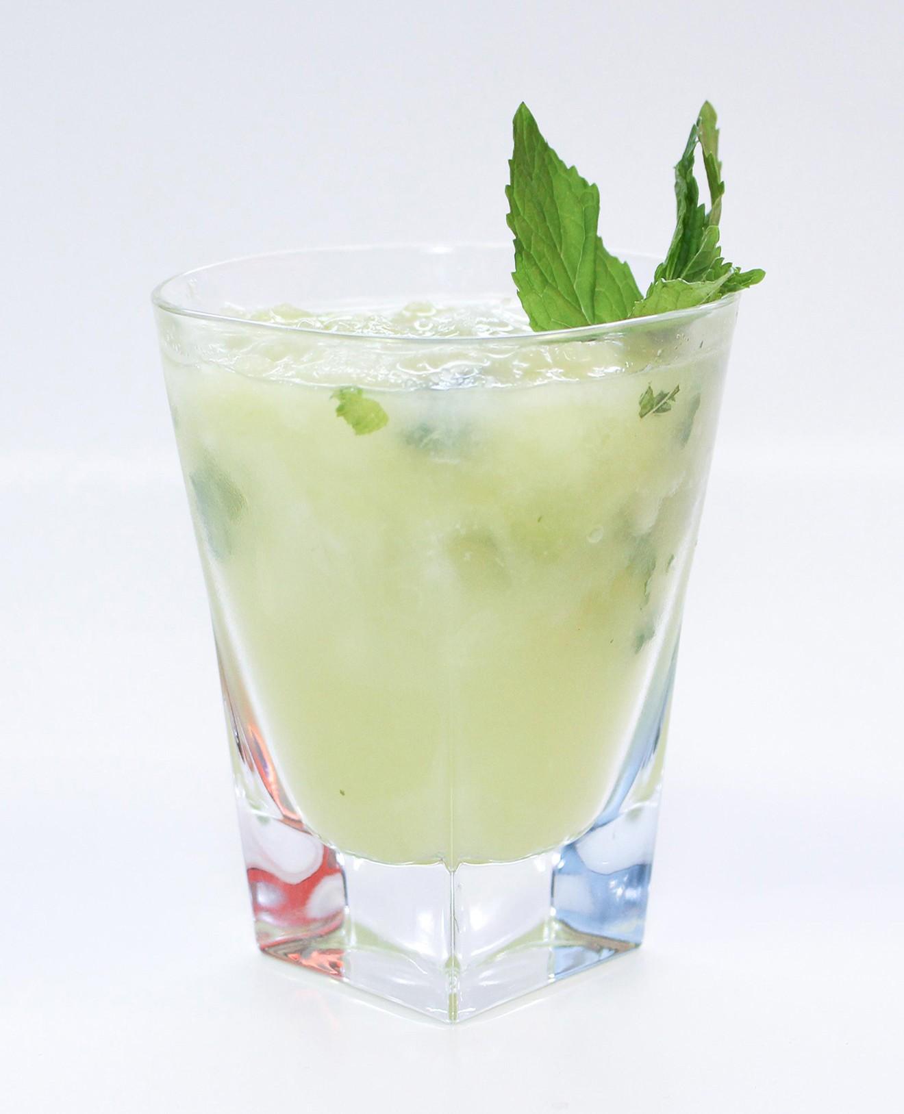 Ginger Mojito cocktail Siem Reap Sombai