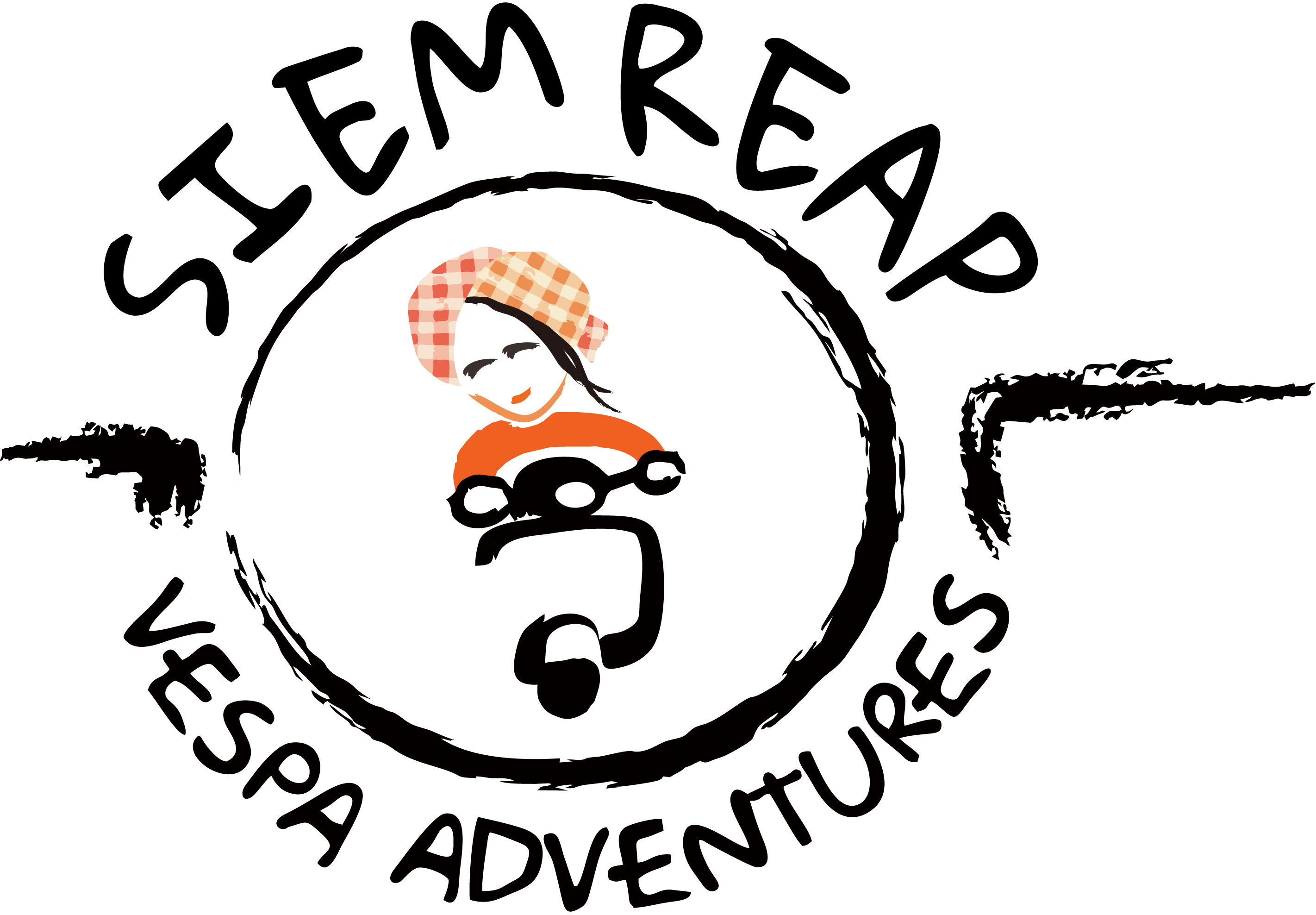 Logo Vespa Adventure experience Siem Reap