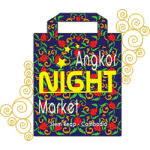 Angkor night market souvenir shop Siem Reap Sombai