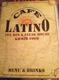 Café Latino restaurant Siem Reap Sombai