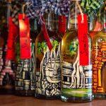 Sombai painted bottles artisans Angkor Bayon Souvenirs from Siem Reap