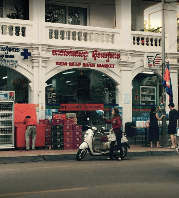 Siem Reap River Market